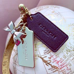 Coach Bag Charm/Key Charm